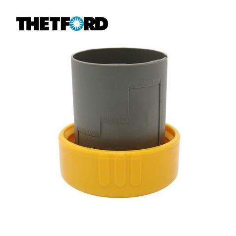Thetford Yellow Dump Cap for C2 C3 C4 C200 Cassette Toilets