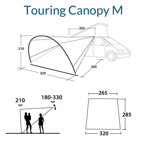 additional image for Outwell Touring Canopy M