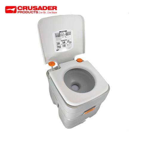 Crusader Deluxe PortaPro 20L Camping Toilet