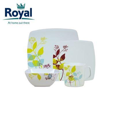 Royal Royal Treetops Premium 16 Piece Melamine Set