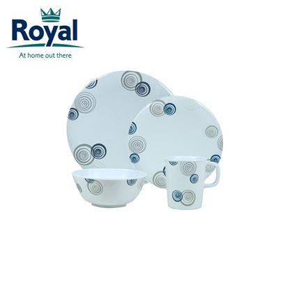 Royal Royal Discs Premium 16 Piece Melamine Set
