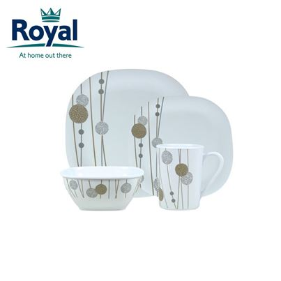 Royal Royal A La Carte Premium 16 Piece Melamine Set
