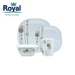Royal A La Carte Premium 16 Piece Melamine Set
