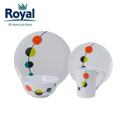 Royal Royal Soleil 16 Piece Melamine Set