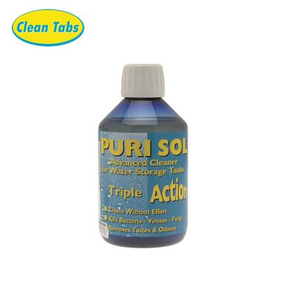 Clean Tabs Puri Sol Water Treatment 300ml