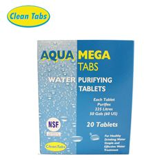 Aqua Mega Water Purifying Tablets