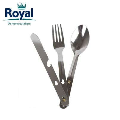 Royal 4in1 Utensil Camping Cutlery Set
