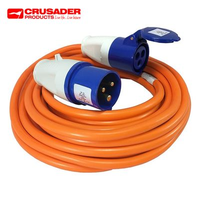 Crusader 230V 10M Site Extension Lead 2.5mm