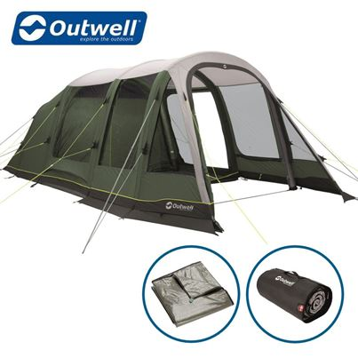 Outwell Outwell Parkdale 4PA Air Tent Package Deal - 2021 Model