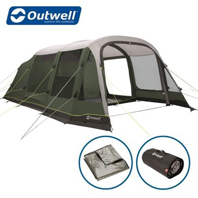 Outwell Outwell Parkdale 6PA Air Tent Package Deal - 2021 Model