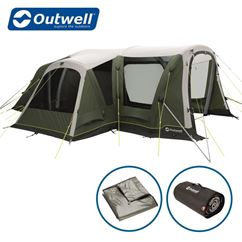 Outwell Oakdale 5PA Air Tent Package Deal - New For 2021