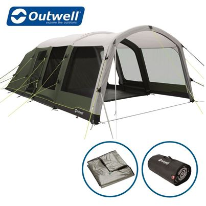Outwell Outwell Birchdale 6PA Air Tent Package Deal - New For 2021