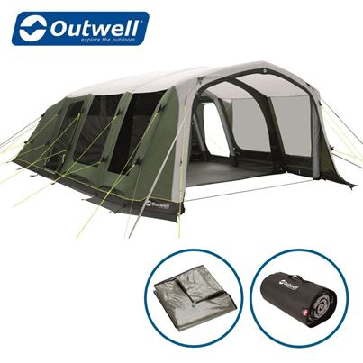 Outwell Outwell Sundale 7PA Air Tent Package Deal - New For 2021
