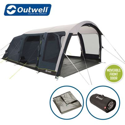 Outwell Outwell Roseville 6SA Air Tent Package Deal - 2021 Model