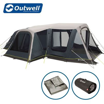 Outwell Outwell Airville 6SA Air Tent Package Deal - 2021 Model