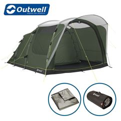Outwell Oakwood 5 Tent Package Deal - New For 2021