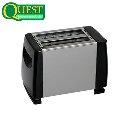 Quest Quest Low Wattage Stainless Steel 2 Slice Toaster