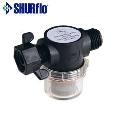 Shurflo Inline Filter Male to Swivel End