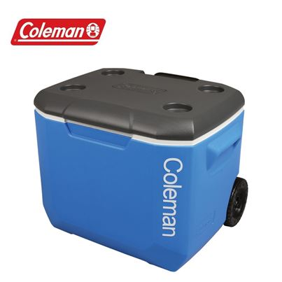 Coleman Coleman Performance 60QT Tricolour Wheeled Cooler