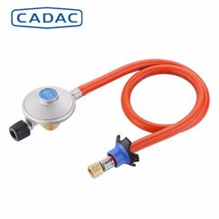 Cadac Threaded Gas Regulator & Hose Kit