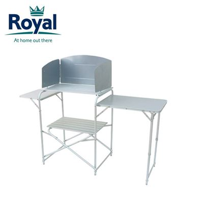 Royal Royal Aluminium Kitchen Stand With Windshield