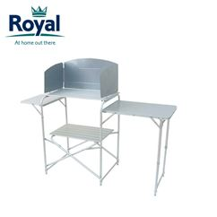 Royal Aluminium Kitchen Stand With Windshield