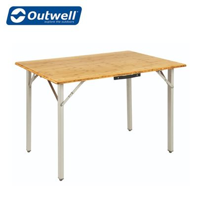 Outwell Outwell Kamloops Bamboo Table Medium & Large