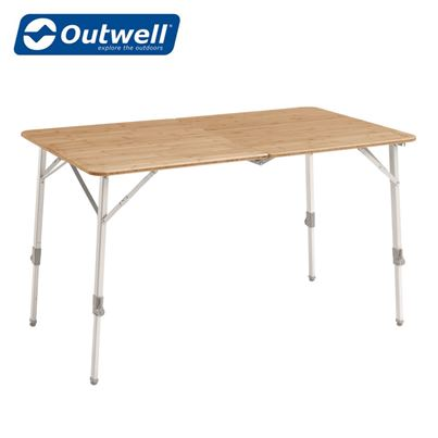 Outwell Outwell Custer Bamboo Table Large - 2021 Model