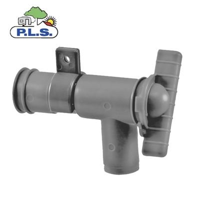 Pennine Grey 28mm Drainage Tap - Waste Water