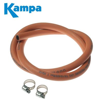 Kampa Kampa Gas Hose Per Metre With Clips