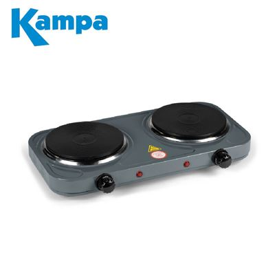 Kampa Kampa Double Electric Hob - 2021 Model