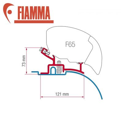 Fiamma Fiamma F65 / F80 Adapter Kit - Ducato Pre 2006