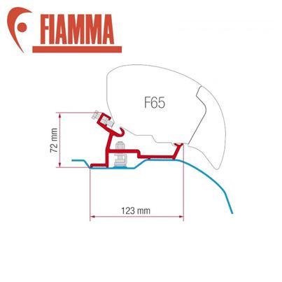 Fiamma Fiamma F65 / F80 Adapter Kit - Ducato After 2006 High Roof Super Long
