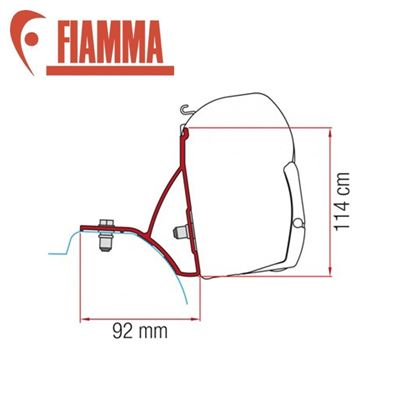 Fiamma Fiamma F45 Awning Adapter Kit Trafic 2015 Onwards