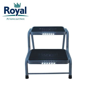 Royal Royal Double Steel Steps with LED Lights