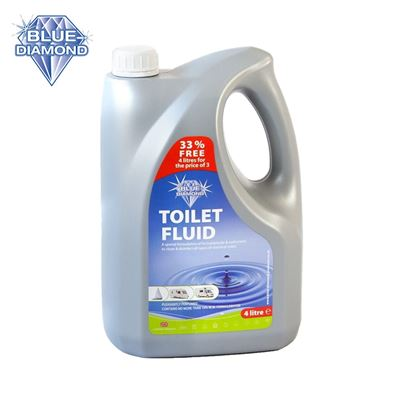 Blue Diamond Blue Diamond 4L Blue Toilet Fluid