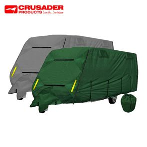Crusader CoverPro 4-Ply Caravan Cover With Free Hitch Cover
