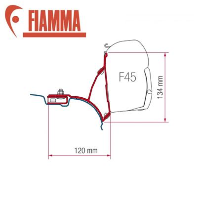 Fiamma Fiamma F45 Awning Adapter Kit - VW T5/T6
