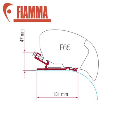 Fiamma Fiamma F65 Awning Adapter Kit - Laika Rexosline - Kreos (2009)
