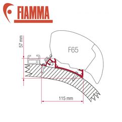 Fiamma F65 Awning Adapter Kit - Carthago Chic