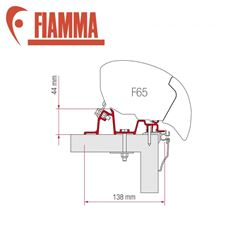 Fiamma F65 Awning Adapter Kit - Hobby Caravan 2009