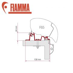 Fiamma F65 Awning Adapter Kit - Hobby Premium