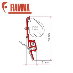 Fiamma F45 Awning Adapter Kit - VW T4 Brandup Top Rail