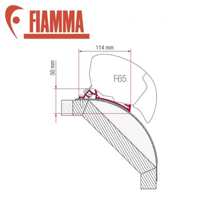 Fiamma Fiamma F65 Awning Adapter Kit - Laika Kreos After 2005