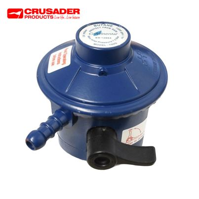 Crusader 21mm Clip-on Butane Regulator