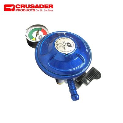 Crusader 21mm Clip-on Butane Regulator With Manometer