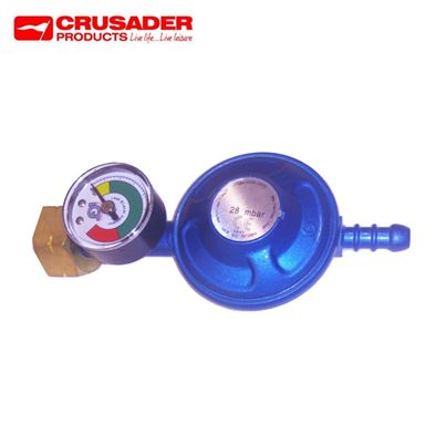 Crusader Butane Regulator With Manometer