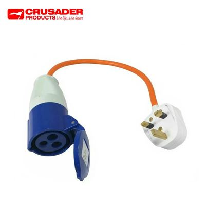 Crusader 230V UK Site Electrics Hook-Up Lead