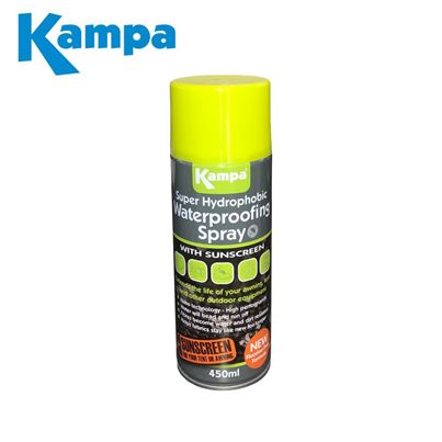 Kampa Kampa Super Hydrophobic Waterproofing Spray 450ml