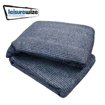 Leisurewize Leisurewize Breathable Awning Carpet - Blue / Grey
